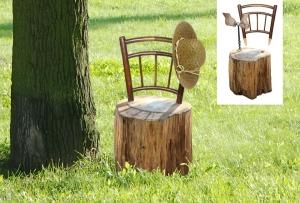 souche chaise